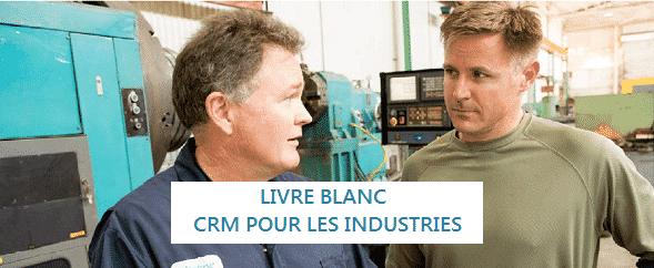 Livre blanc CRM pour les industries du Groupe HLi