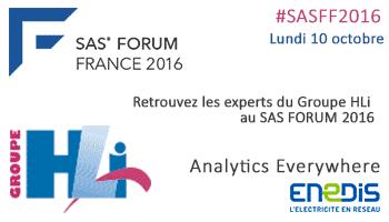 HLi au SAS forum 2016