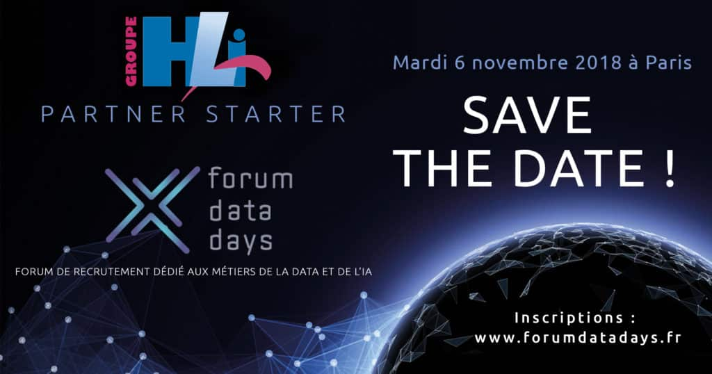 Le Groupe HLi participe au Forum Data Days 2018