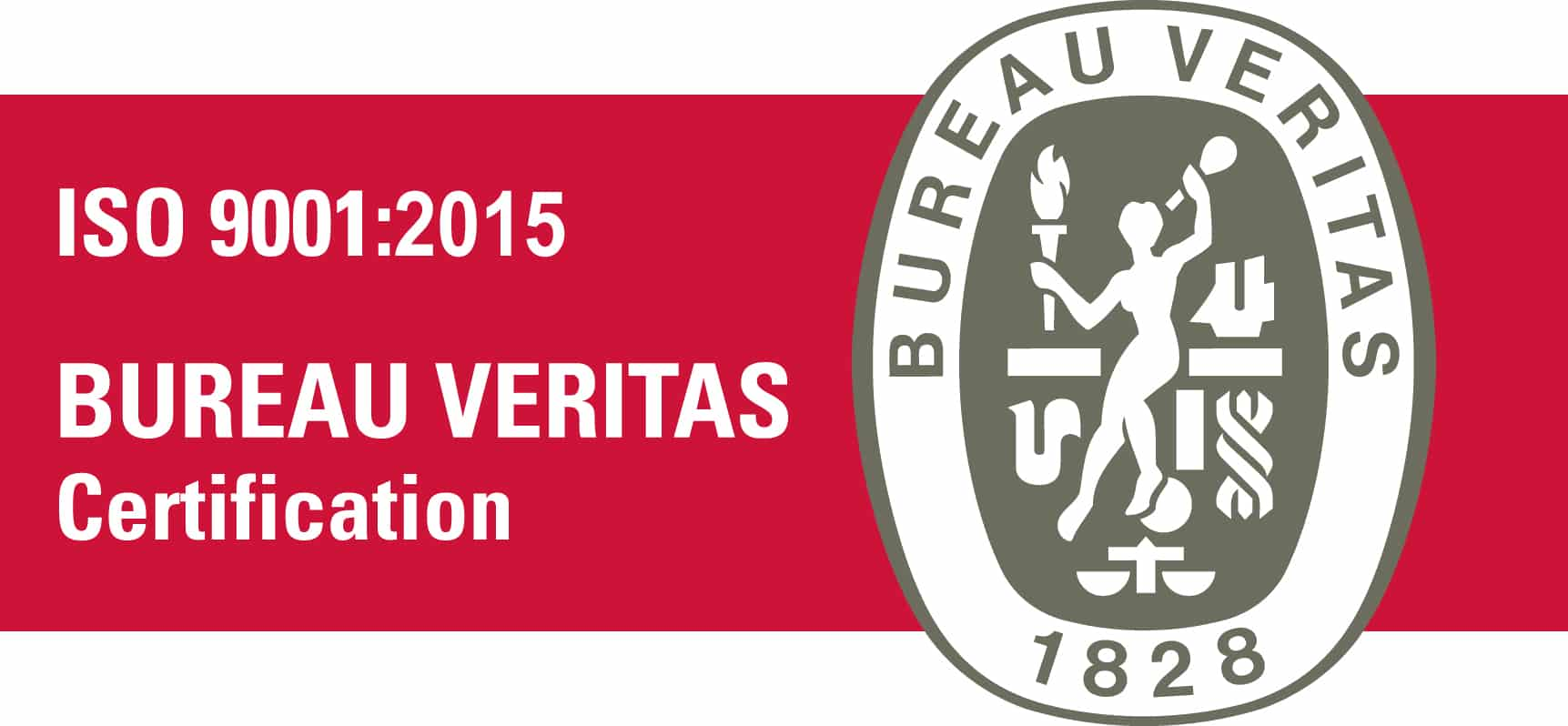 Certification Bureau Véritas ISO 9001 : 2015
