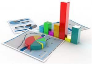 Présentation structurée des données par un outil de business intelligence ou informatique décisionnelle