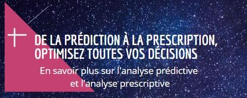 L'analyse prédictive et l'analyseprescriptive presentée par Groupe HLi