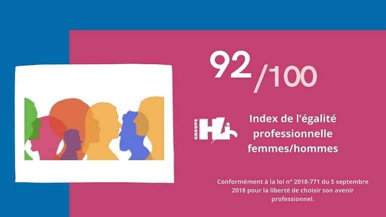 L'index 2020 égalité professionnelle femmes-hommes