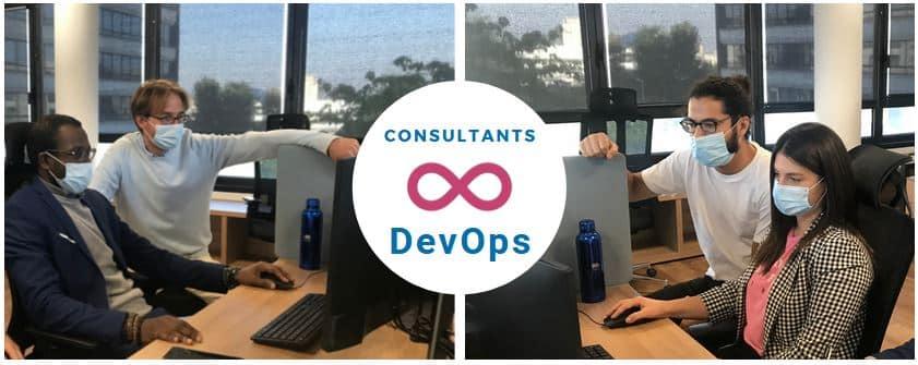 Avec DevOps, les développeurs travaillent avec les opérationnels techniques.