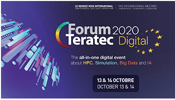 Le Teratec Digital Forum Digital 2020 s'est déroulé les 13 et 14 octobre 2020.