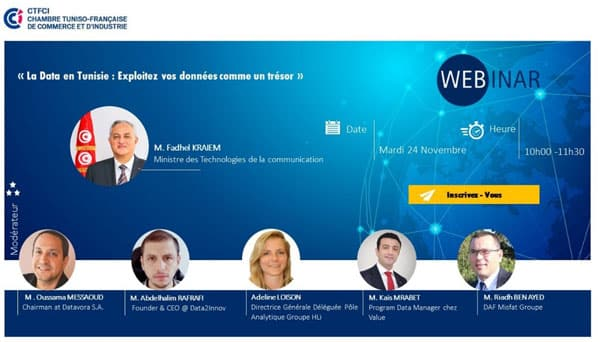 Webinar avec HLi : « La Data en Tunisie ».